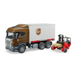 Bruder® Spielzeug-LKW Scania R-Serie UPS Logistik