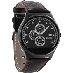 X-WATCH QIN XW Prime II RED BLACK Smartwatch Rot, Schwarz