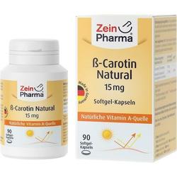 Beta Carotin Natural 15 mg - ZeinPharma