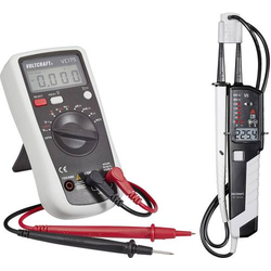 VOLTCRAFT VC175+VC55LCD Hand-Multimeter digital CAT III 600V Anzeige (Counts): 2000