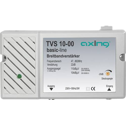 Axing TVS 10 Mehrbereichsverstärker BK, DVB-T 22 dB