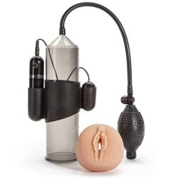 Lust Pumper vibrierende Penispumpe mit Vagina