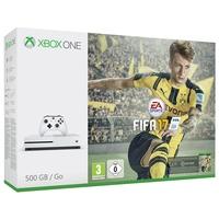 Microsoft Xbox One S 500GB + FIFA 17 (Bundle) ab 279.90 € im Preisvergleich