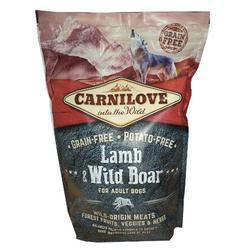 Carnilove Adult Lamm und Wildschwein Getreidefreies Hundefutter (12 kg)