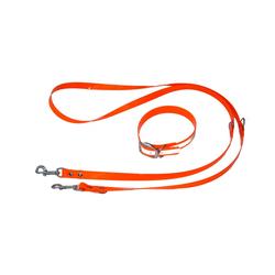 HEIM Hunde-Halsband Hiflex -Set, Kunststoff, mit 240 cm Hundeleine