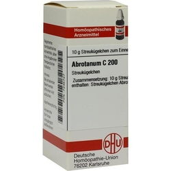 ABROTANUM C 200 Globuli 10 g