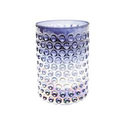 KARE Kerzenständer Windlicht Iris Dots 13cm bunt