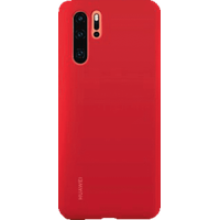 Huawei P30 Pro Silicone Case rot