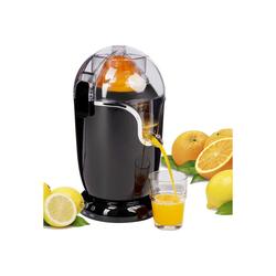 ONVAYA Entsafter Elektrische Saftpresse, Obstpresse, Entsafter, Orangen- und Zitronenpresse, automatische Zitruspresse, vollautomatischer Juicer in schwarz, elektrische Orangenpresse