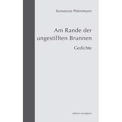 Am Rande der ungestillten Brunnen als Buch von Konstanze Petersmann
