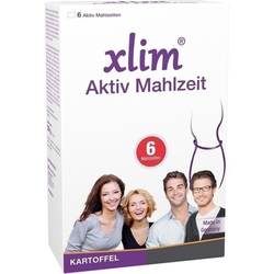XLIM Aktiv Mahlzeit Kartoffel Pulver 6 St