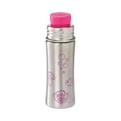 Affenzahn Trinkflasche Edelstahl Trinkflasche Lila, 330 ml rosa