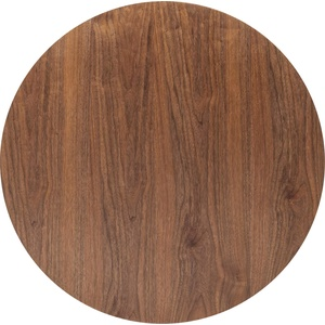 Kare Design Invitation Round Walnut Tischplatte, Ø90 cm