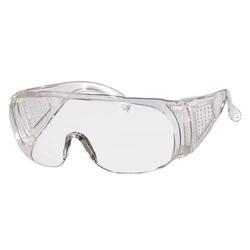 Panorama Schutzbrille Kunststoffgläser, kratzfest, für Brillenträger, DIN P - 5P - Farbe:IR-Grün