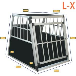 ALU Hundetransportbox Hundebox Transportbox Autotransportbox Gitterbox Reisebox