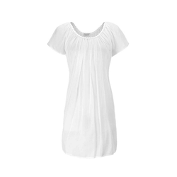 Eva B.Bitzer Nachthemd Kurzes Nachthemd, Baumwoll-Mousseline 42
