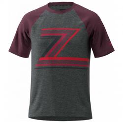 Zimtstern - The-Z Tee - T-Shirt Gr M schwarz/lila