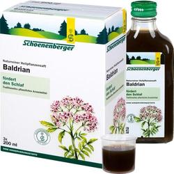 BALDRIAN HEILPFLANZENSÄFTE Schoenenberger 600 ml