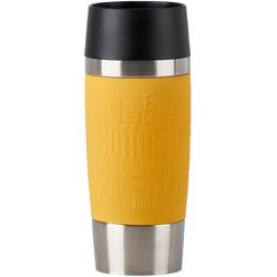 Emsa Thermobecher Travel Mug, (1 tlg.), 100% dicht, 360 ml gelb und Coffee to go Geschirr, Porzellan Tischaccessoires Haushaltswaren