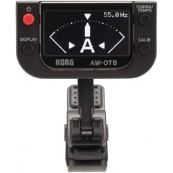 KORG AW-OTB OLED Clip-On Tuner Bass