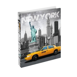 HERMA 19132 3x Ringbuch A4 New York