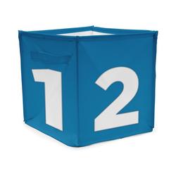 ACHOKA® Aufbewahrungsbox Aufbewahrungsbox Würfel - rot blau
