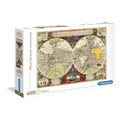 Clementoni® Puzzle Antike See-Karte, 6000 Puzzleteile