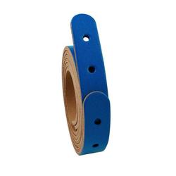 Miyako Lederriemen 80 x 2 cm Blau, 100% echtes Leder, Zubehör, Taschenzubehör