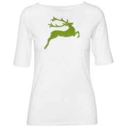 H. Moser Langarmshirt Shirt Wildwiese S