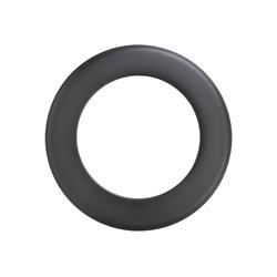 Firefix Rosette, Ø 200 mm, 1-St., starr, für Rauchrohr