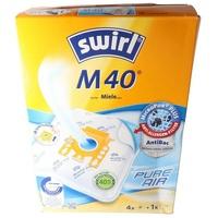 Swirl Staubsaugerbeutel Swirl Staubsaugerbeutel M40 (M54) MicroPor Plus fü,