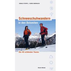 Folio Schneeschuh Dolomiten