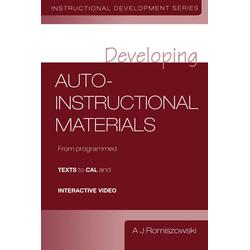 Developing Auto-instructional Materials: eBook von A. J. Romiszowski