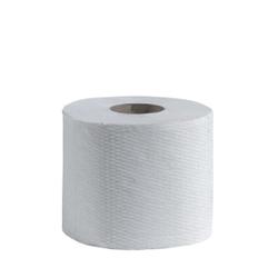 CWS Recycling Natur Toilettenpapier, 2-lagig, naturweiß, Hochwertiges Toilettenpapier aus 100% Recycling-Papier, 1 Paket = 6 x 8 = 48 Rollen à 400 Blatt