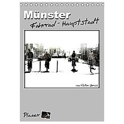 Münster Fahrrad-Hauptstadt / Planer (Tischkalender 2021 DIN A5 hoch)