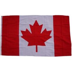 XXL Flagge Kanada 250 x 150 cm Fahne mit 3 Ösen 100g/m² Stoffgewicht