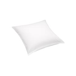 Matratzen Concord Kissenbezug Select Luxus Satin weiß 80x80 cm