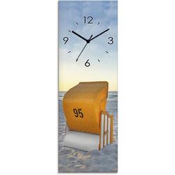 Artland Wanduhr Ostsee7 - Strandkorb blau Wanduhren Uhren Wohnaccessoires
