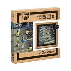 Clementoni® Puzzle Puzzle 250 Teile Frame me up - Fussball, Puzzleteile