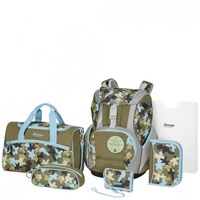 Sammies by Samsonite Ergofit 2.0 7-tlg. Adventure Camo