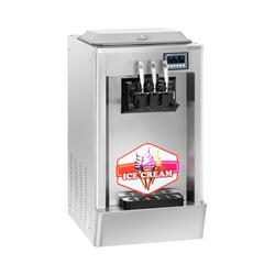 Softeismaschine - 1.870 W - 2 x 8,5 L - 20 L/h