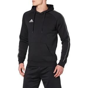 adidas Herren CORE18 Hoody Sweatshirt, Black/White, XL