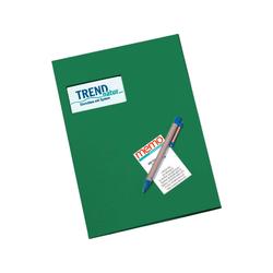 memo Angebotsmappe grün 350 g/m² m.F. 21 x 30 cm