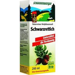 SCHWARZRETTICHSAFT SCHOENENBERGER