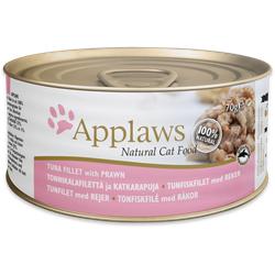 Applaws Thunfischfilets  und Garnelen Katzenfutter Nassfutter (0,07 kg)