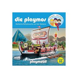 Edel Hörspiel CD Die Playmos 53 - Geheime Schatzsuche auf der