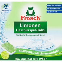 Frosch All in One Limonen Geschirrspültabs ECO 26 St.