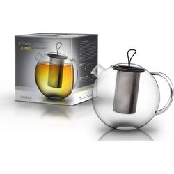 Creano Teekanne JUMBO, 2 l, Borosilikatglas, 2 Liter Inhalt