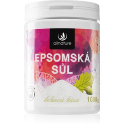 Allnature Epsomská sůl Oak Bark Badesalz 1000 g