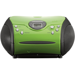 Lenco Lenco SCD-24 pink CD-Player grün